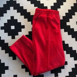 JCrew Red Trousers SZ 12